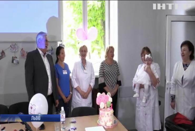 Львівські медики вперше в Україні виходили недоношене немовля