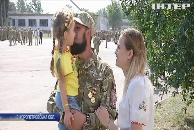"""З фронту повернулися бійці 93 окремої механізованої бригади """"Холодний Яр"""""""