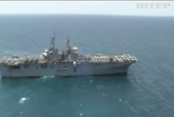 Корабель США знищив безпілотник Ірану
