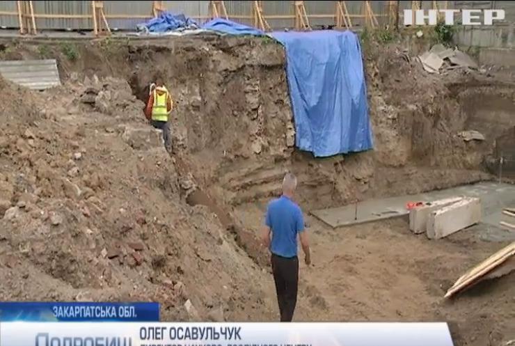 В Ужгороді розкопали старовинну пивоварню