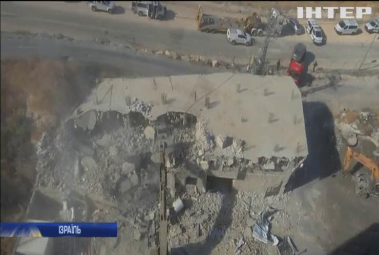 Ізраїль зносить палестинське поселення на околиці Єрусалима