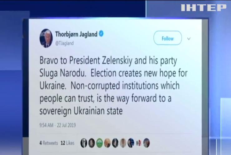 Генсек Ради Європи привітав Володимира Зеленського з успіхом на виборах