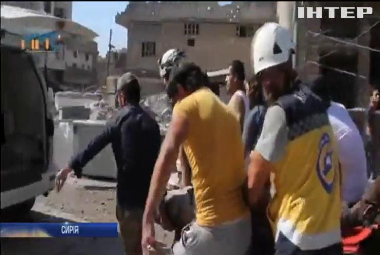 У Сирії внаслідок удару російської авіації загинули люди
