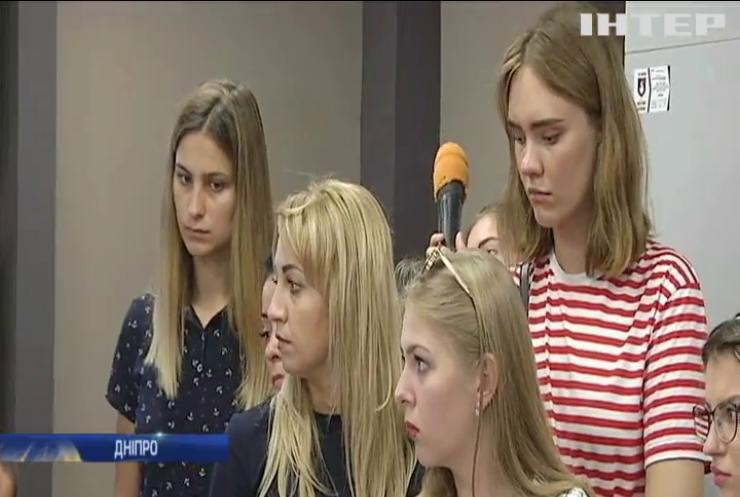 До Дніпра доправили поранених українських військових