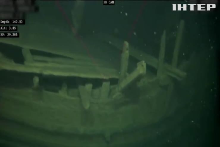 На дні Балтійського моря знайшли стародавній корабель
