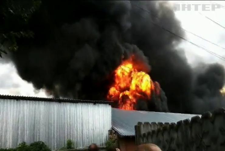 На Полтавщині вигоріло 30 гектарів сухотрав'я