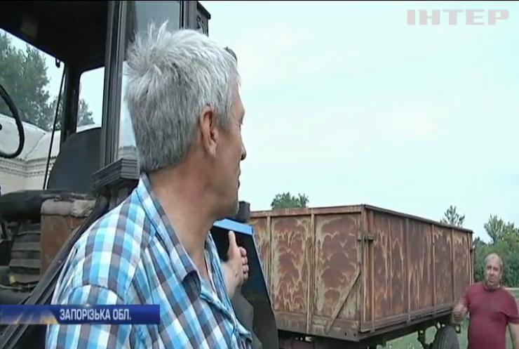 Буревій на Запоріжжі паралізував життя цілого села