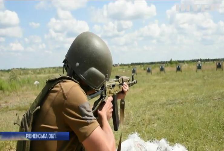 На Рівненщині штурмовиків готують за стандартами НАТО