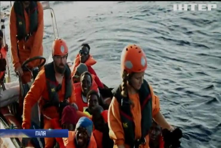 Італія запроваджує штрафи за порятунок біженців