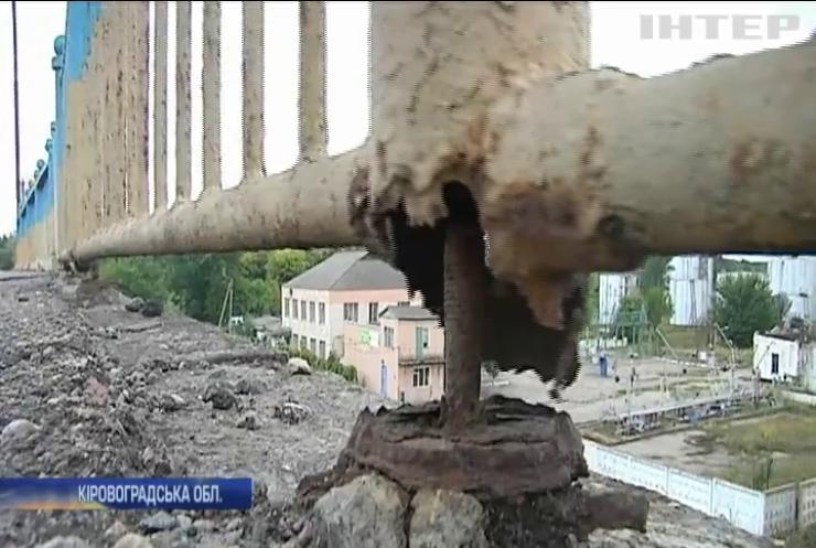 Жителі Кіровоградщини вимагають відремонтувати трасу державного значення