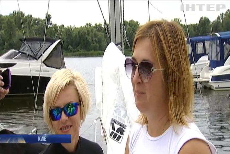 Змагання яхтсменів-аматорів: у Києві пройшла традиційна регата