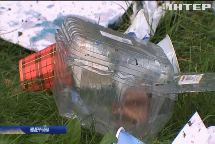 У Німеччині заборонять пластикові пакети