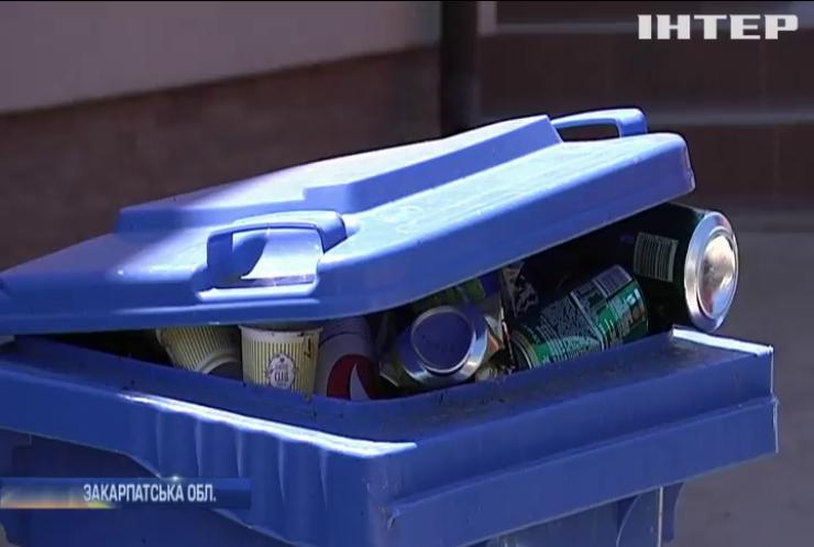Гори сміття: на Закарпатті перестали вивозити відходи