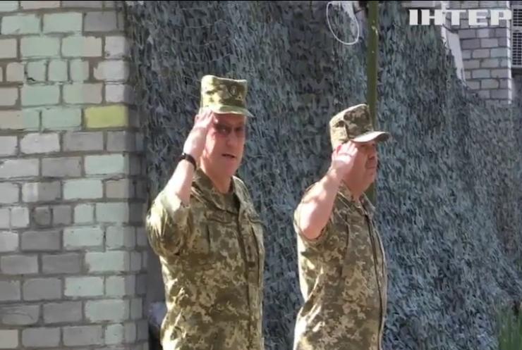 Українським військовим представили нового командувача ООС на Донбасі