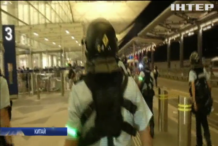 Офіційний Пекін заявив про ознаки тероризму під час протестів у Гонконгу