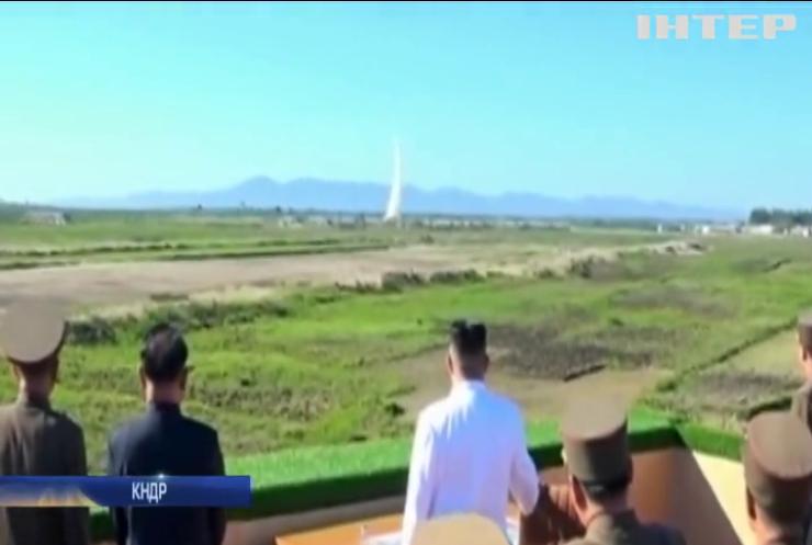 КНДР запустила дві ракети зі східного узбережжя країни