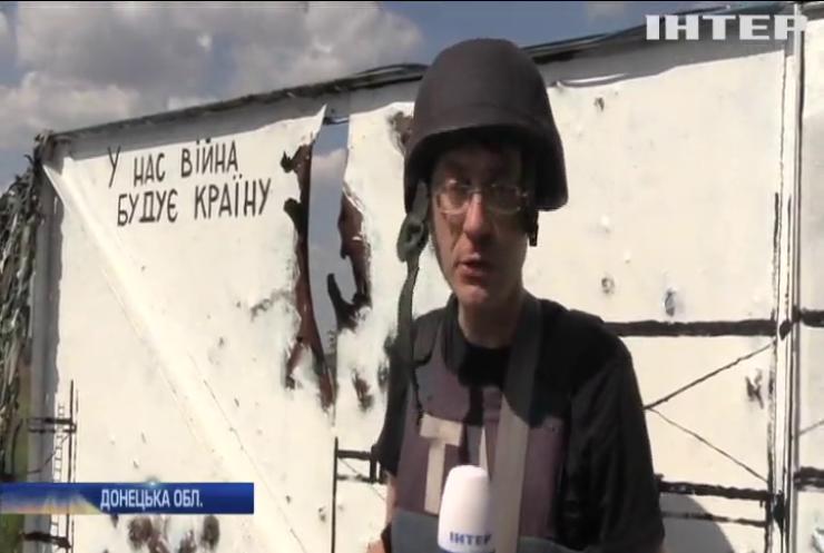 Харківський художник створив мурали на позиціях українських військових