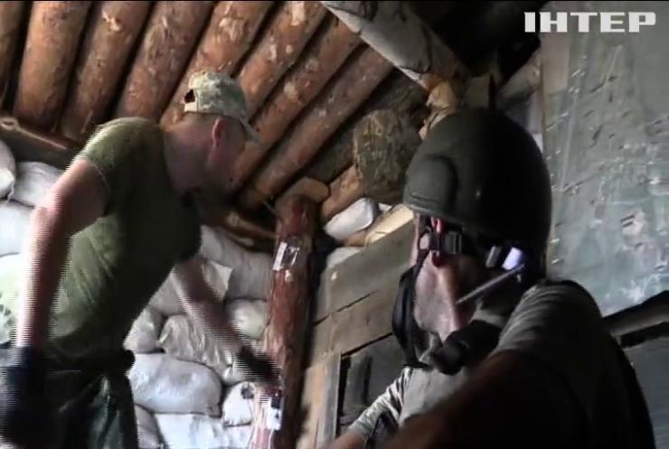 На Донбасі не стихають ворожі провокації