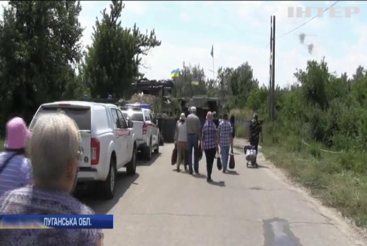 Бойовики свідомо затягують демонтаж фортифікаційних споруд у Станиці Луганській
