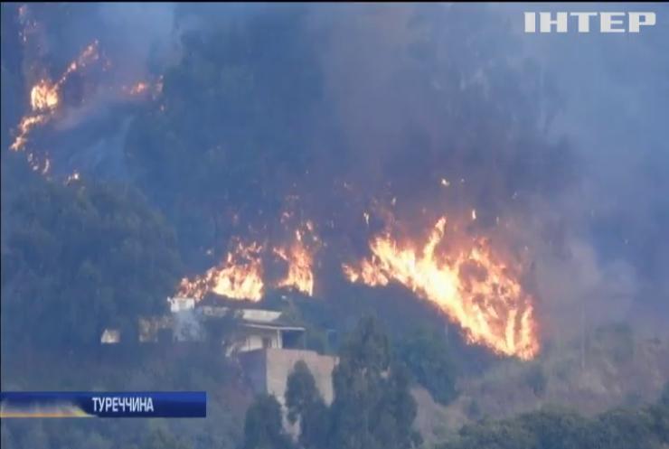 Туреччину охопили масштабні пожежі