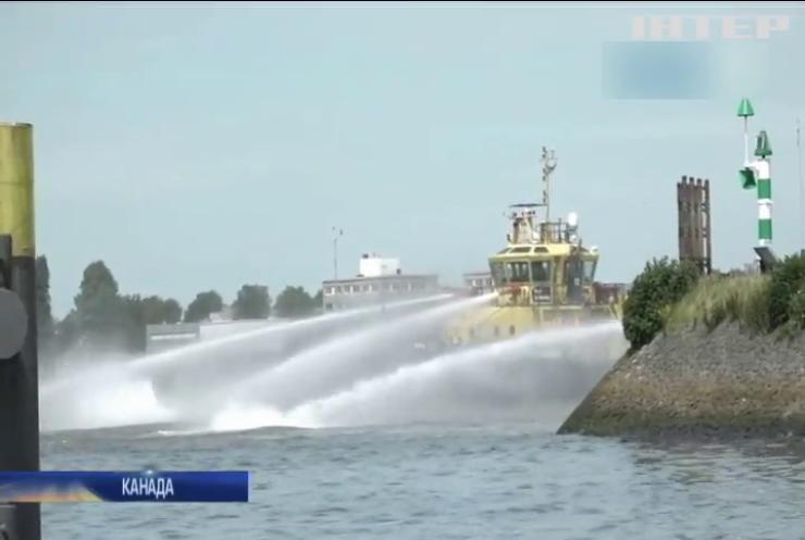У Канаді в річку вилилось 40 тисяч тонн нафти