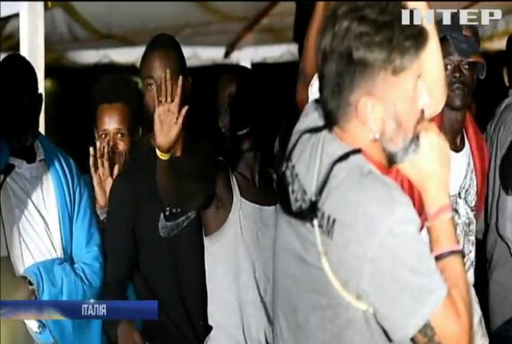 На острові Лампедуза 80 мігрантів зійшли на берег