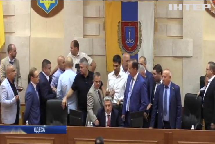 Кадрові зміни в Одеській обласній раді: як розподіляли керівні крісла