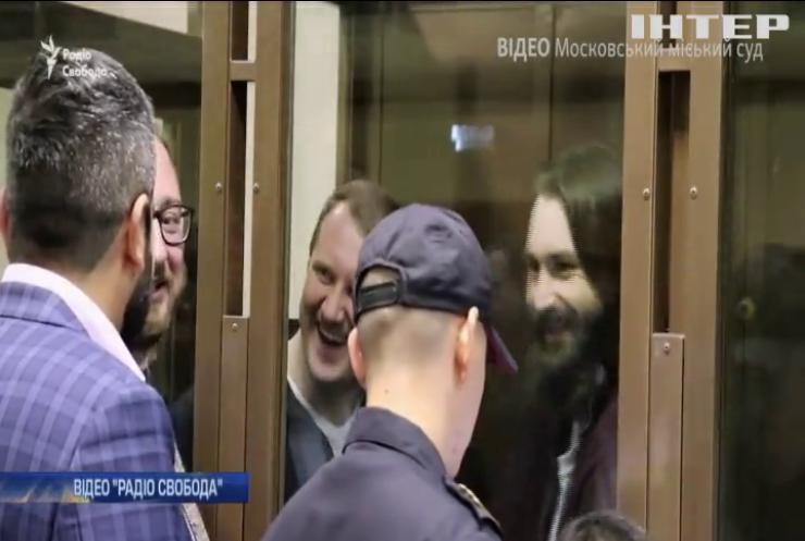 Московський міський суд залишив під вартою шістьох полонених українських моряків