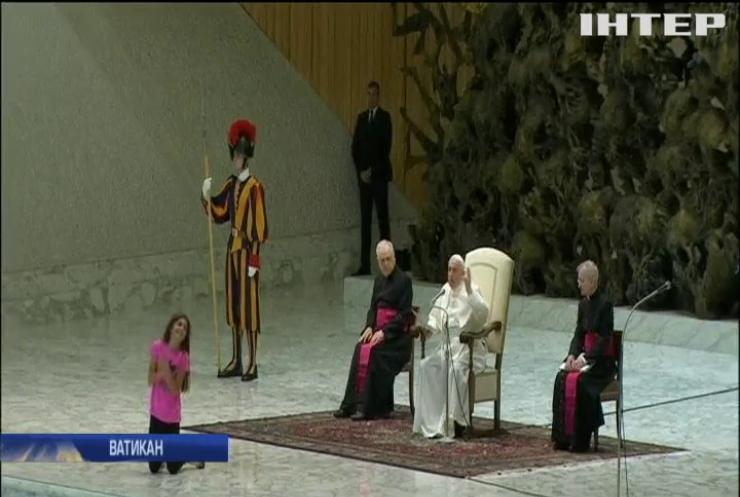Папа Римський звернувся до вірян зі зворушливою промовою