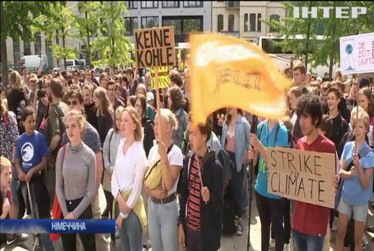 """""""П'ятниці заради майбутнього"""": школярі прогулюють уроки на кліматичних демонстраціях"""