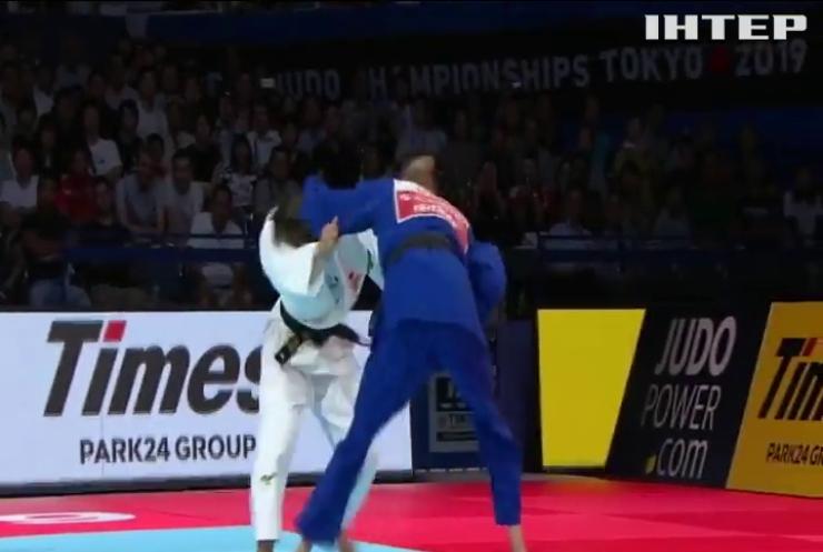 Українка стала наймолодшою двократною чемпіонкою світу з дзюдо