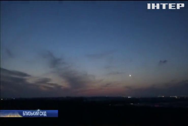 Ізраїль відповів сектору Газа на обстріл авіаударом