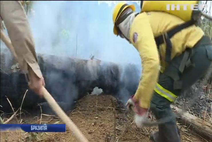 Президент Бразилії відмовився від допомоги G7 для боротьби з пожежами в лісах Амазонки