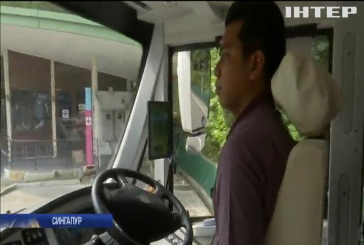 Сингапур тестує безпілотні автобуси