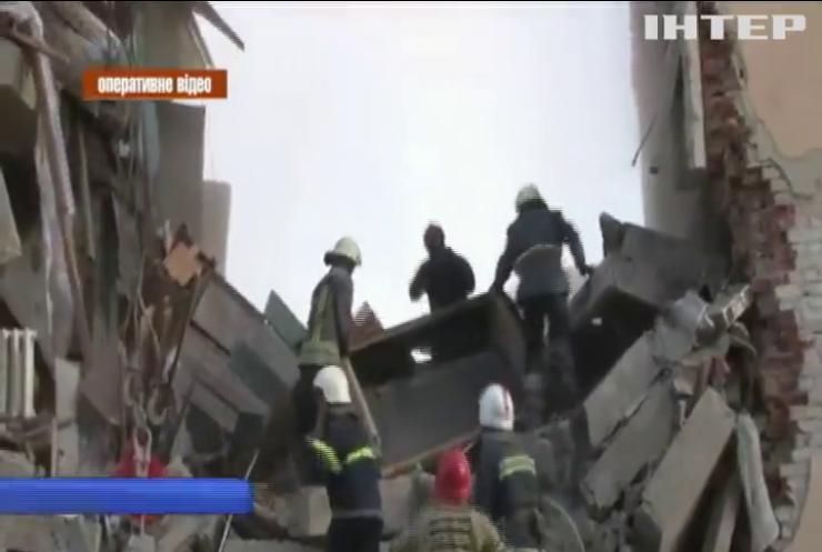 Вибух у Дрогобичі: під завалами будинку шукають людей