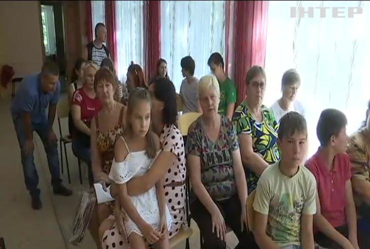 На Харківщині протестують проти закриття двох шкіл