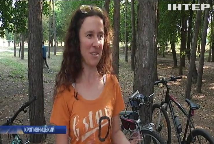 Жителів Кропивницького закликали сідати за велосипеди