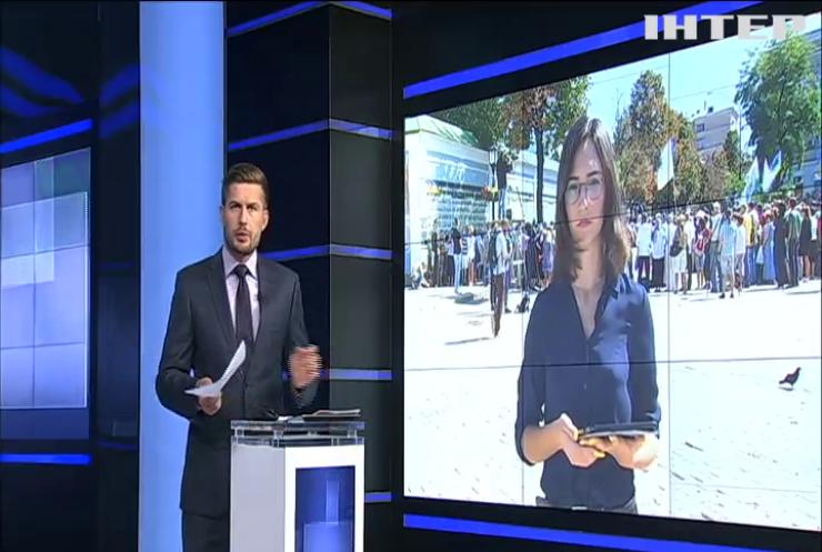День пам'яті захисників України: на Михайлівській площі провели молебен