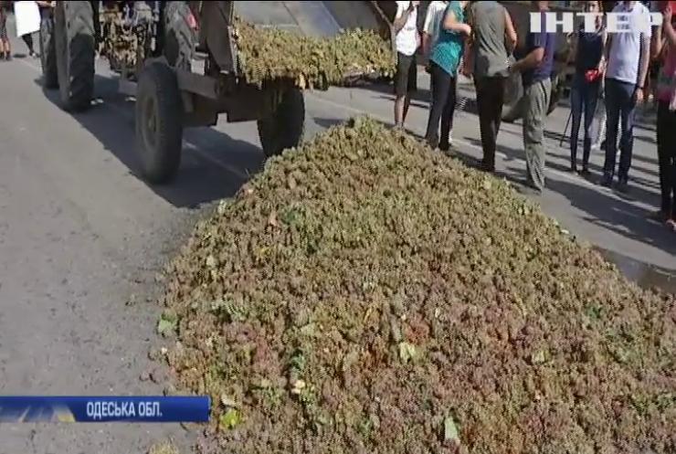 Бессарабський протест: на Одещині бунтують виноградарі