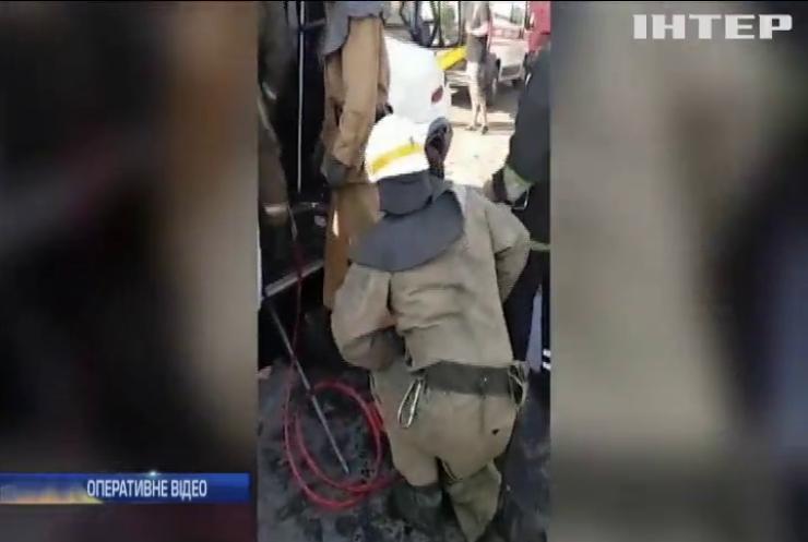 На Дніпропетровщині маршрутка з пасажирами протаранила вантажівку