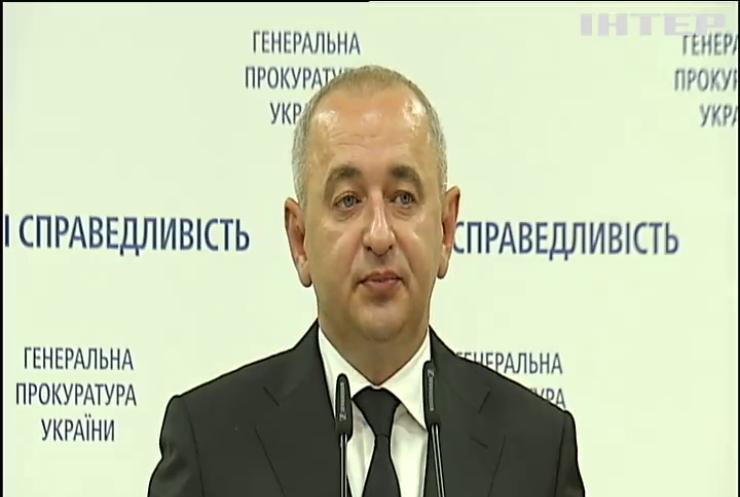 Анатолія Матіоса звільнили з посади головного військового прокурора