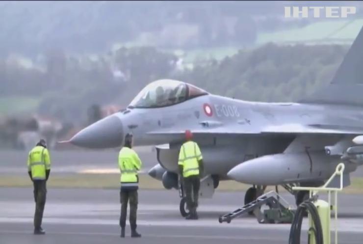 Винищувачі НАТО патрулюватиму повітряний простір Балтії