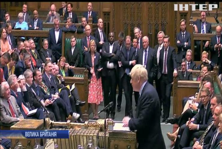 Борис Джонсон втратив прихильників у Парламенті