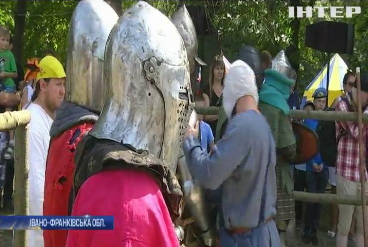 """На Прикарпатті відбувся фестиваль """"Галицьке лицарство"""""""