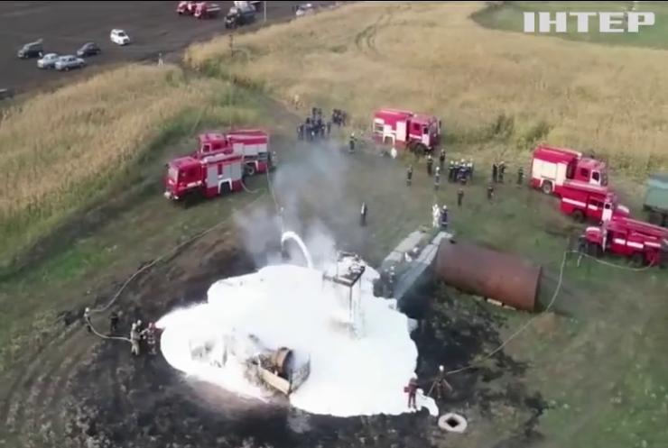 Сумські рятувальники назвали причину пожежі на свердловині