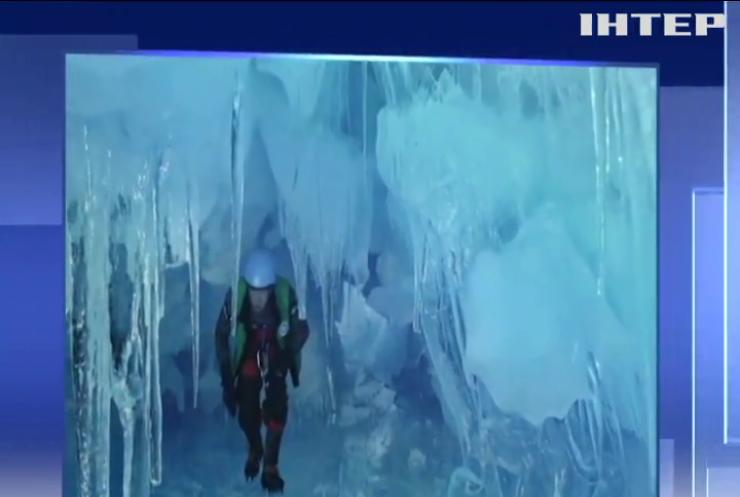 """Українські полярники віднайшли """"загублену"""" печеру в Антарктиді"""