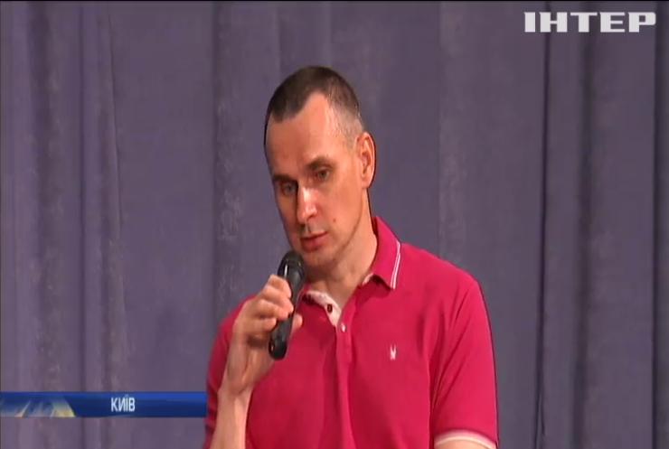 Олег Сенцов та Олександр Кольченко вперше поспілкувалися з журналістами