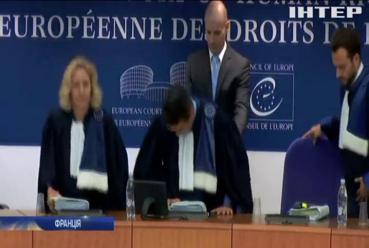 Європейський суд з прав людини розглядає справу про Крим