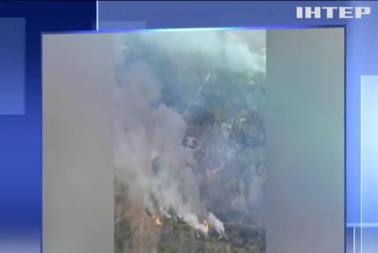 На військовому полігоні на Чернігівщині спалахнула пожежа