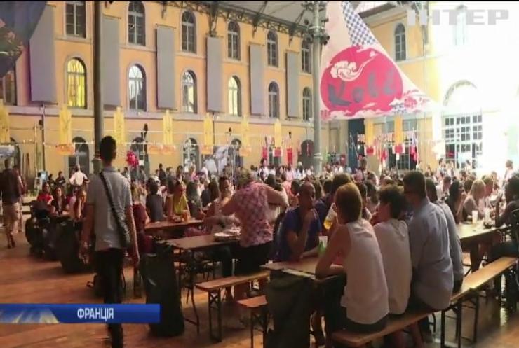 У Ліоні на вуличному фестивалі куштували вишукані страви